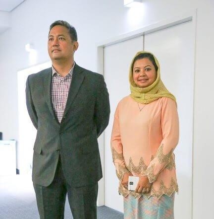 Ms. Zarina & Mr. Omar from Malaysia