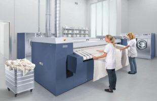 Miele offers three high-performance flatwork ironers