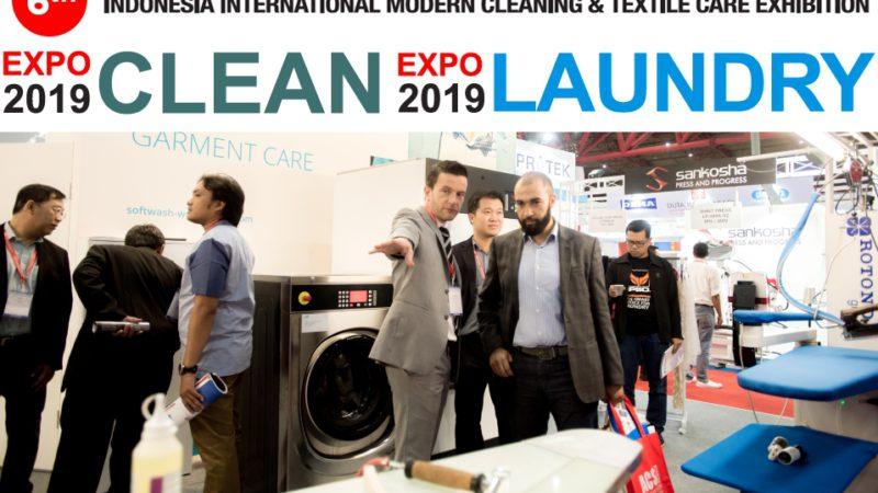 EXPO CLEAN & EXPO LAUNDRY 2019, 11–13 July 2019, Jakarta International Expo, Indonesia