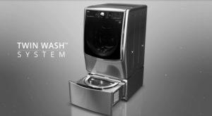 LG's TwinWash technology revolutionizes laundry industry