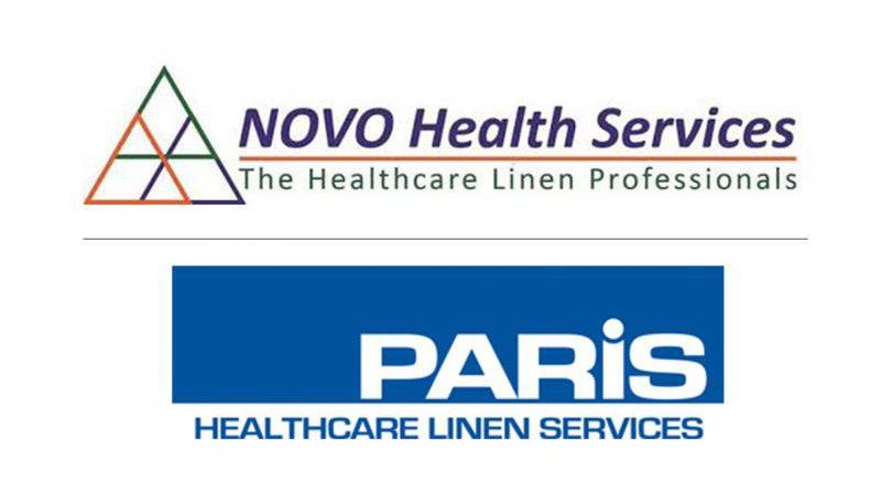 Merger between NOVO Health Services & Paris Healthcare Linen Services